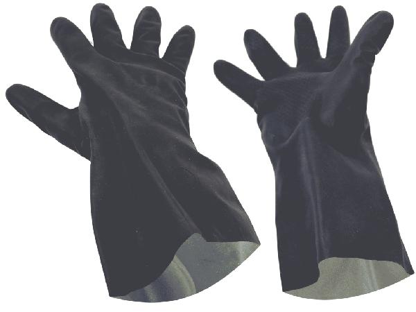 Перчатки КЩС химстойкие